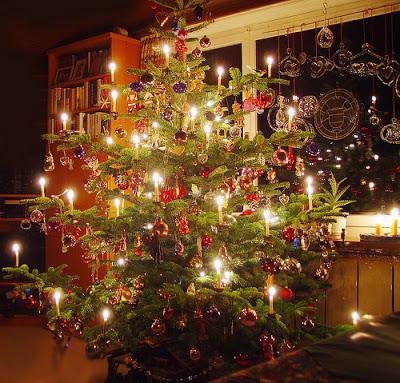 Velas En Navidad La Nostalgica Coctelera - Velas-de-navidad
